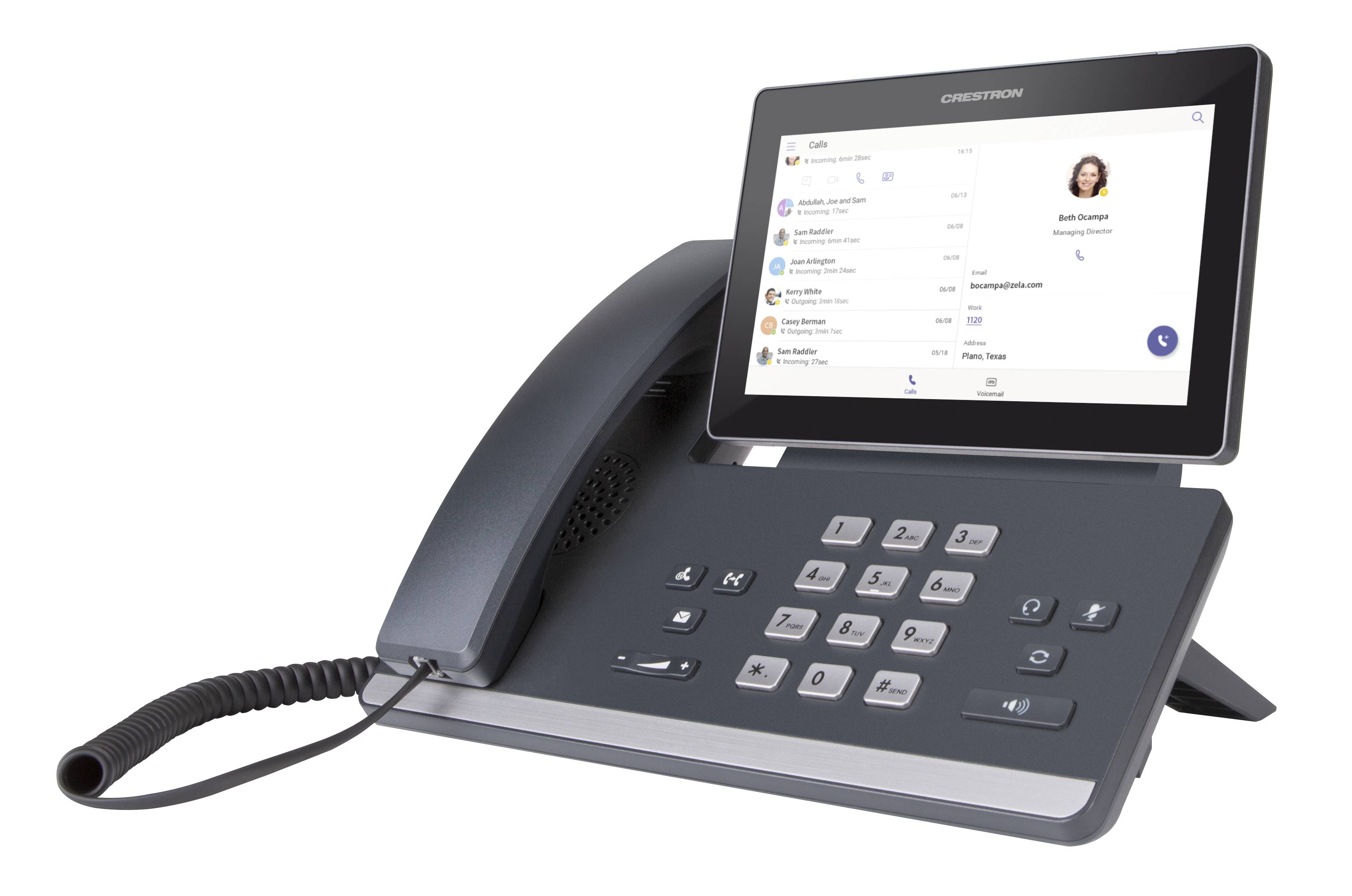 Crestron Flex P100-S – VoIP Desk Phone for Microsoft Skype for Business®